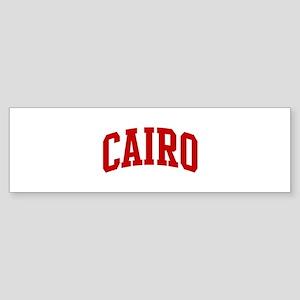 CAIRO (red) Bumper Sticker