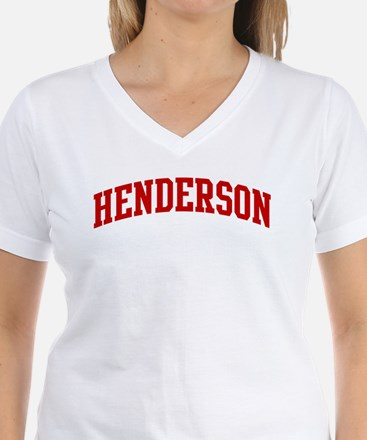 HENDERSON (red) Shirt