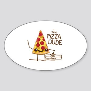 The Pizza Dude Sticker