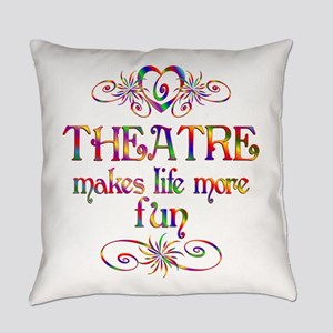 Theatre More Fun Everyday Pillow