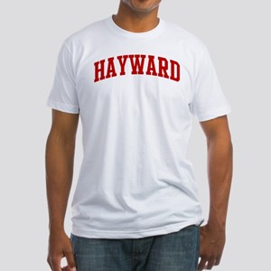 HAYWARD (red) Fitted T-Shirt