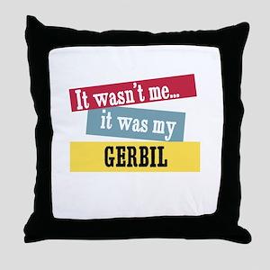 Gerbil Throw Pillow