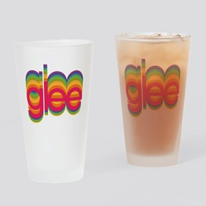 Glee Colorful Logo Drinking Glass