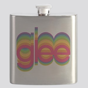 Glee Colorful Logo Flask