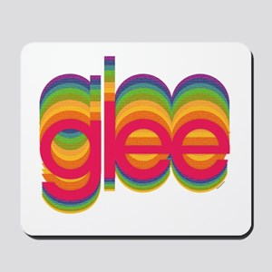 Glee Colorful Logo Mousepad