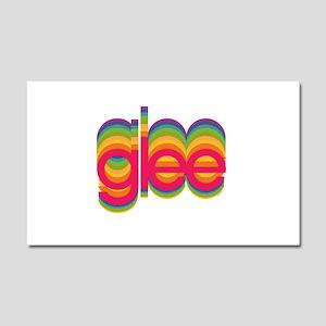 Glee Colorful Logo Car Magnet 20 x 12