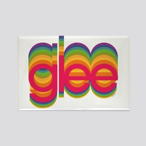Glee Colorful Logo Rectangle Magnet