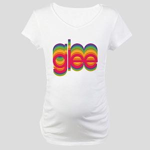 Glee Colorful Logo Maternity T-Shirt