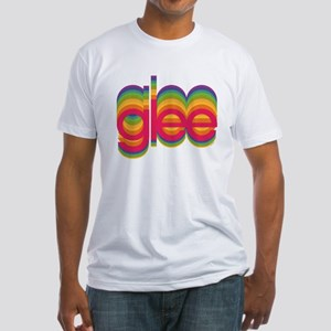 Glee Colorful Logo Fitted T-Shirt
