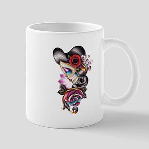 Sugar Skull 075 Mugs