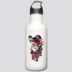 Sugar Skull 075 Water Bottle
