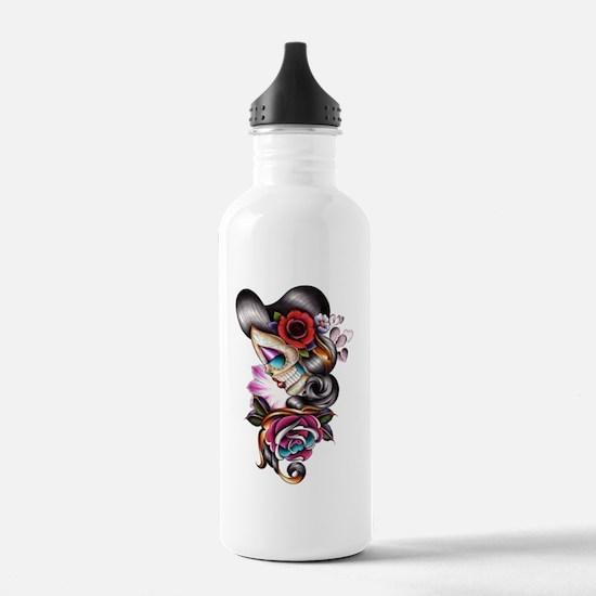 Sugar Skull 075 Water Bottle