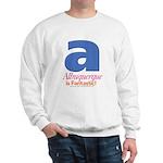 Albuquerque Is Fantastic Sweatshirt (white)