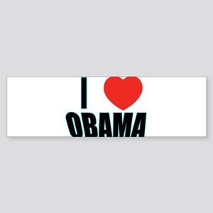 i heart obama 04 Bumper Sticker