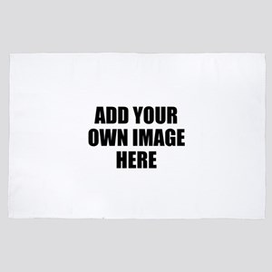 Add Your Own Image 4' x 6' Rug