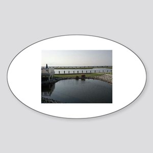 Chincoteague Channel View Sticker