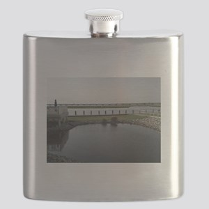 Chincoteague Channel View Flask