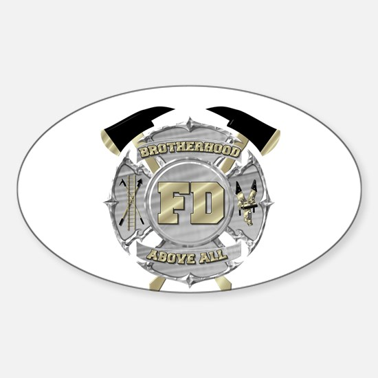 BrotherHood fire service 1 Decal