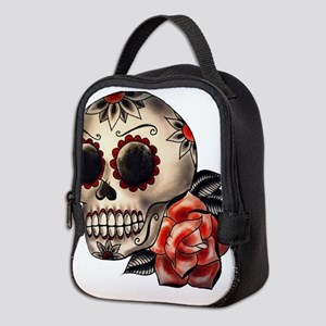 Sugar Skull 034 Neoprene Lunch Bag