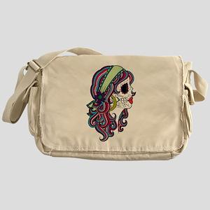 Sugar Skull 070 Messenger Bag
