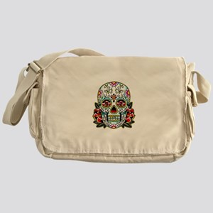 Sugar Skull 067 Messenger Bag