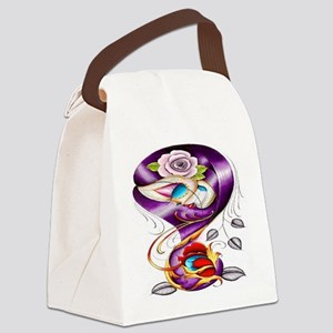 Sugar Skull 022 Canvas Lunch Bag