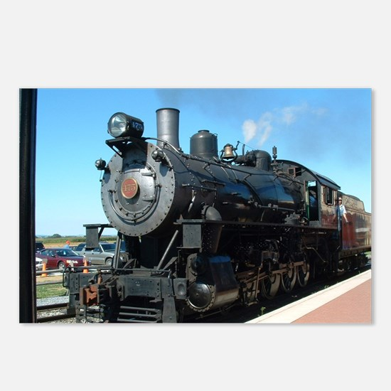 train Postcards (Package of 8)