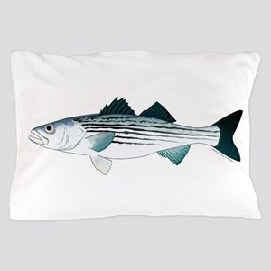 Striped Bass v2 Pillow Case