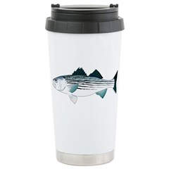 Striped Bass v2 Travel Mug