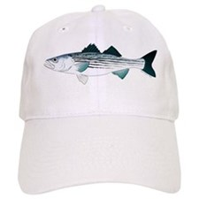 Striped Bass v2 Baseball Cap