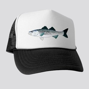 Striped Bass v2 Trucker Hat