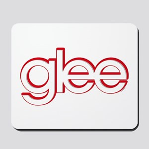 Glee Red & White Mousepad