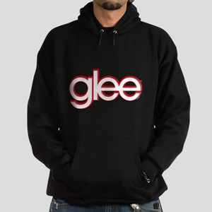 Glee Red & White Hoodie (dark)