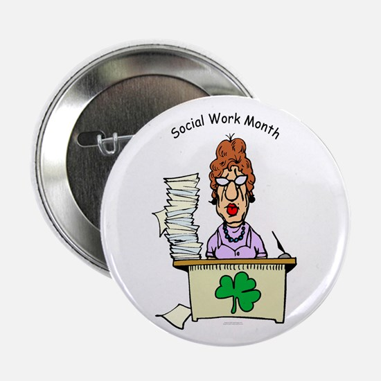 Social Work Month Desk Buttons (10 pack)