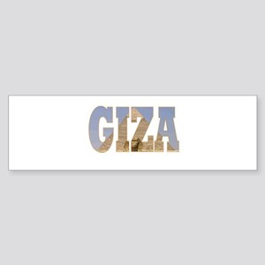 Giza Bumper Sticker