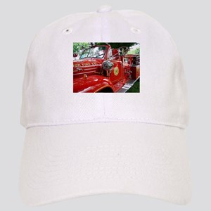 red fire engine 1 Cap