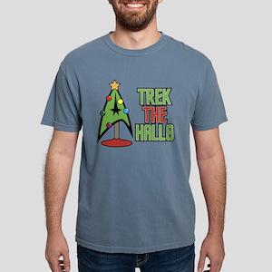 Trek The Halls Mens Comfort Colors Shirt