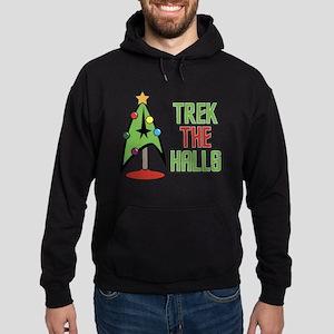 Trek The Halls Hoodie (dark)