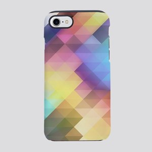 Abstract Colorful Decorative S iPhone 7 Tough Case