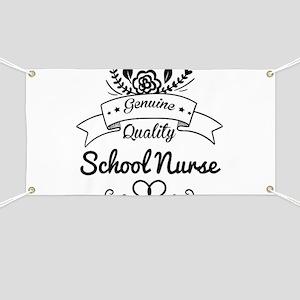 Genuine Quality School Nurse Banner