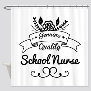 Genuine Quality School Nurse Shower Curtain