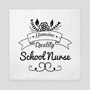 Genuine Quality School Nurse Queen Duvet