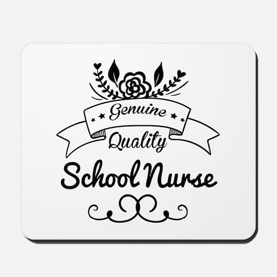 Genuine Quality School Nurse Mousepad