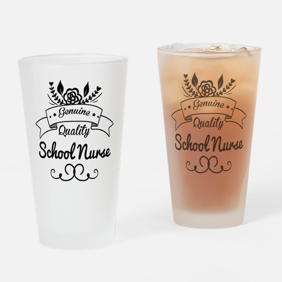 Genuine Quality School Nurse Drinking Glass