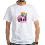 IT'S A GIRL! - Baby Birth Announcements White T-Sh