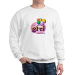 IT'S A GIRL! - Baby Birth Announcements Sweatshirt