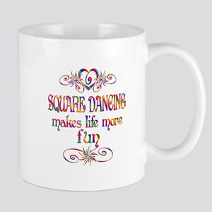 Square Dancing More Fun Mug