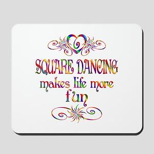 Square Dancing More Fun Mousepad