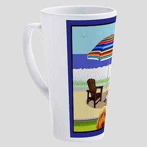Golden Doodle 17 oz Latte Mug