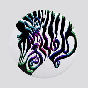 ZEBRA!! Ornament (Round)